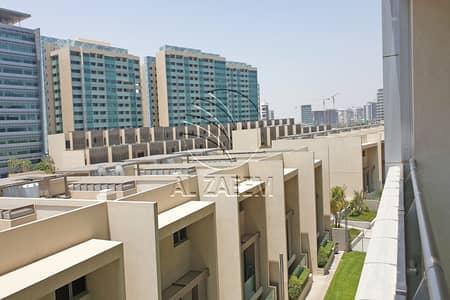 شقة 1 غرفة نوم للايجار في شاطئ الراحة، أبوظبي - On Low Floor | Move-in Ready | Lovely Balcony View