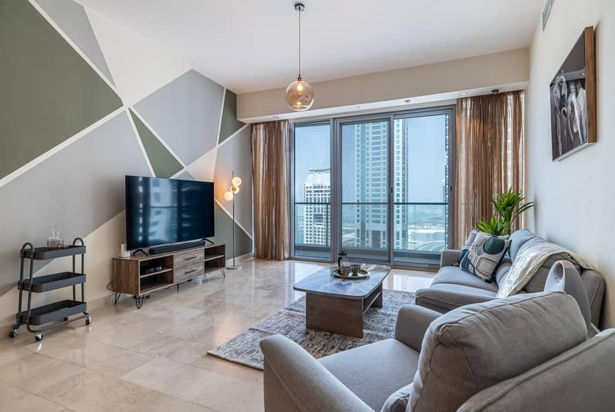 شقة في ترايدنت جراند ريزيدنس دبي مارينا 2 غرف 15000 درهم - 5080132