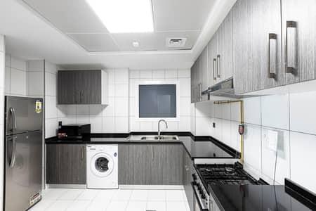 1 Bedroom Flat for Rent in Arjan, Dubai - Closed kitchen
