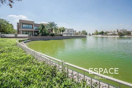 فیلا 6 غرف نوم للبيع في تلال الإمارات، دبي - Luxury 6 Bed   Vacant   Lake View   Perfect Condition