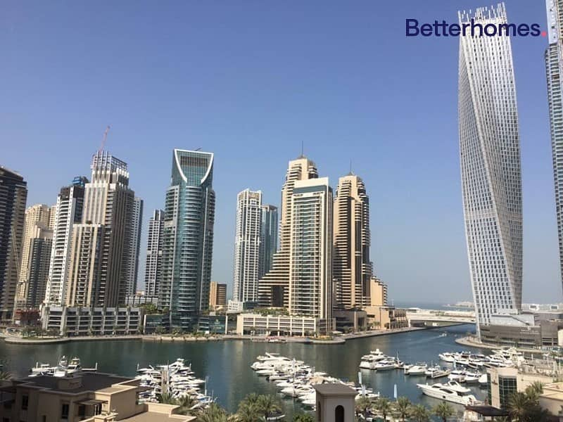 Marina View | 2 + Study | Low Floor | Furnished
