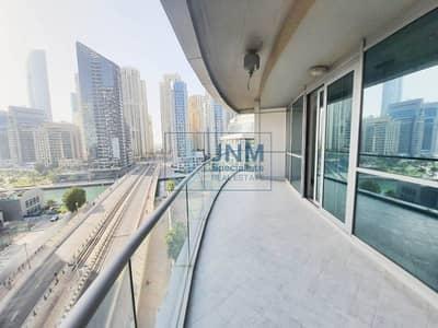 2 Bedroom Flat for Rent in Dubai Marina, Dubai - 2 Bedrooms + Maid's Room  Partial Marina View