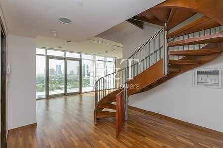 فلیٹ 2 غرفة نوم للبيع في مركز دبي المالي العالمي، دبي - Duplex | Zabeel View | Tenanted