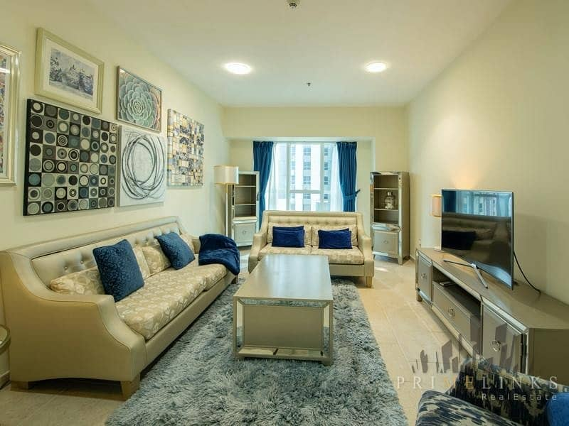 Amazing 2 Bedrooms Partial Sea View Rented
