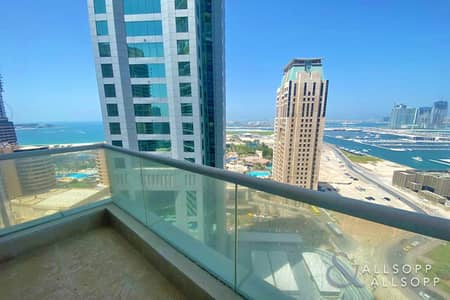 1 Bedroom Flat for Sale in Dubai Marina, Dubai - Exclusive | 1 Bed | Full Sea View | Vacant
