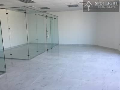 Office for Rent in Business Bay, Dubai - Fitted office with Glass Partitions Near Business bay metrostation