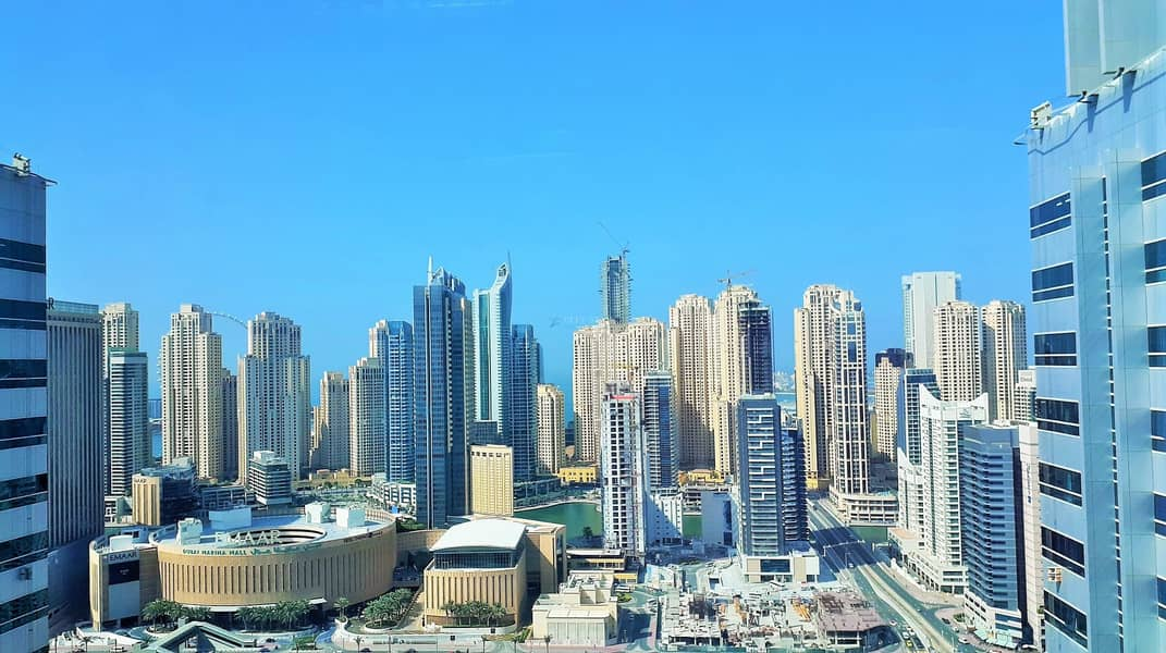 Chiller free fitted office in JLT