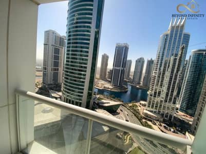 Studio for Rent in Jumeirah Lake Towers (JLT), Dubai - Full Furnished One Parking  Opposite to Metro