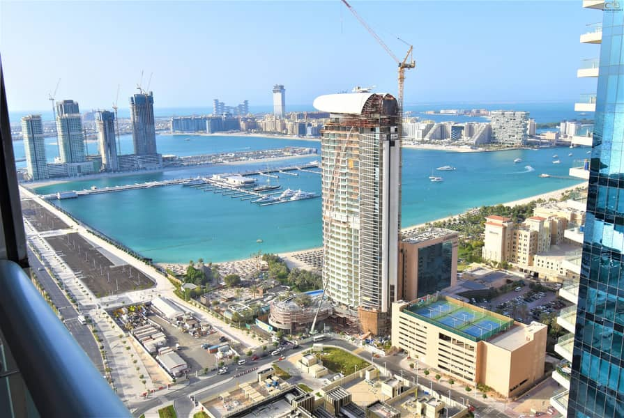 2 Sea View | Higher Floor | Ready to Move in