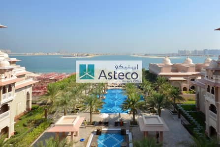 2 Bedroom Flat for Rent in Palm Jumeirah, Dubai - Fully Furnished | 2 BR + Maids Room | Sea View