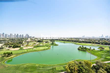 3 Bedroom Apartment for Rent in The Hills, Dubai - Full Golf Course Views | 3 Bed + Maids | May
