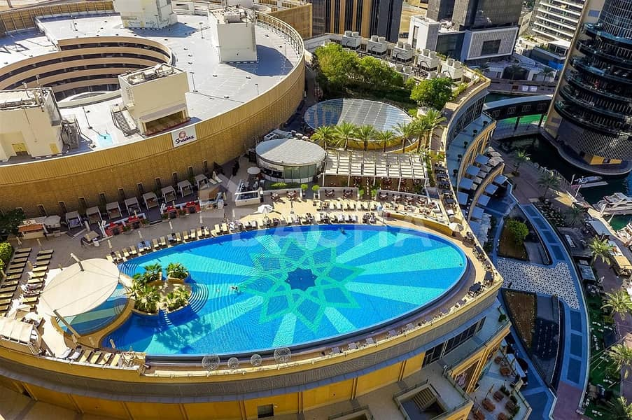 10 The Address Dubai Marina / 1 Car Parking included / Vacant