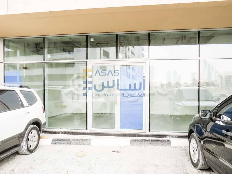 2 SHOPS AVAILABLE FOR RENT WITH FREE ONE MONTH RENT IN QASIMIA UNIVERSITY WAQF BUILDING