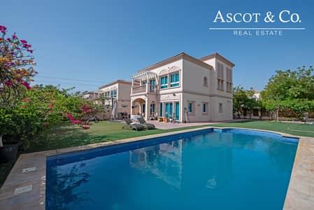 3 Bedroom Villa for Sale in Jumeirah Village Triangle (JVT), Dubai - Rare 3 Bed    Private Pool    Large Plot
