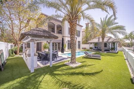 فیلا 5 غرف نوم للبيع في عقارات جميرا للجولف، دبي - Maids Room | Private Pool | Golf View