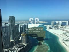 شقة في برج سكاي شمس جيت ديستريكت جزيرة الريم 2 غرف 1500000 درهم - 5081478