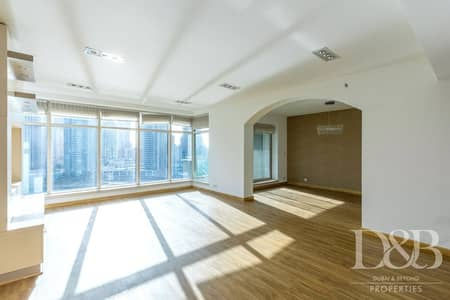 3 Bedroom Flat for Rent in Dubai Marina, Dubai - Upgraded Flooring   Well Maintained   Vacant