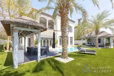 فیلا 5 غرف نوم للبيع في عقارات جميرا للجولف، دبي - New Listing - Turnberry - Earth and Lake View