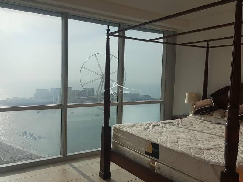 10 Amazing Sea  and  Ain  Dubai  View 3 BR Apartment