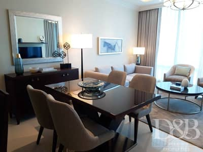 1 Bedroom Apartment for Sale in Downtown Dubai, Dubai - Stunning Burj View | 1Bedroom | Serviced