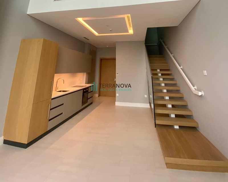 2 Unfurnished | Loft Apartment | Burj Khalifa View