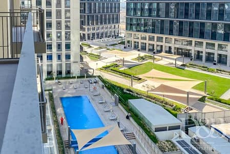 2 Bedroom Flat for Rent in Dubai Hills Estate, Dubai - Vacant Now | View of Pool | Chiller Free