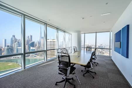 Partly Furnished | High Floor | Pay in 12 Cheques