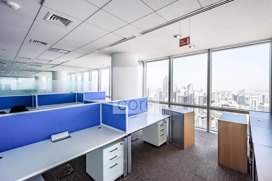2 Fitted Office | High Floor | Pay in 12 Cheques