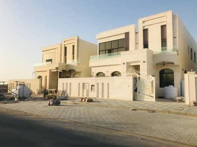 5 Bedroom Villa for Sale in Al Jurf, Ajman - BRAND NEW VILLA FOR SALE IN AJMAN  jaurf rageyab  5 BEDROOM MAJLIS HALL KITCHEN WITH CAR PARKING VERY SPECIAL LOCATION