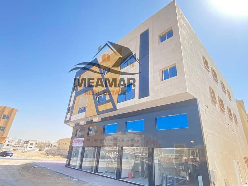 للبيع بنايه جديده في المويهات بدخل سنوي ممتاز .