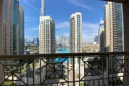 Spacious 1 bedroom with Burj & Lake views