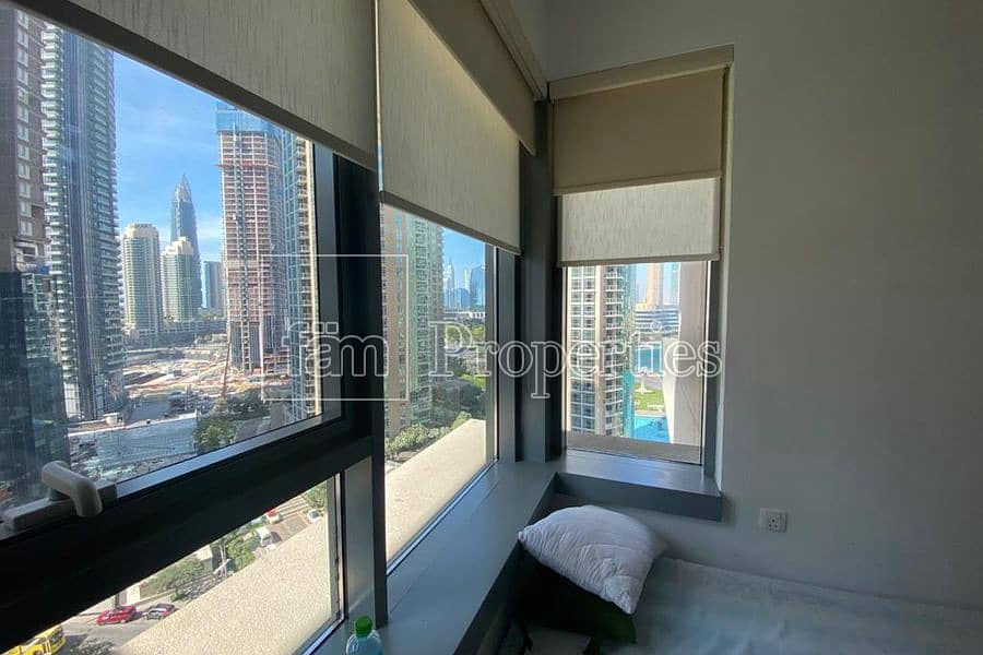 2 Spacious 1 bedroom with Burj & Lake views