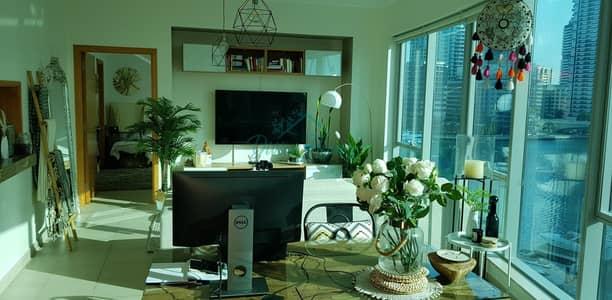 شقة 1 غرفة نوم للايجار في دبي مارينا، دبي - Unfurnished   Walk In Closet   Equipped Kitchen   Chiller Free