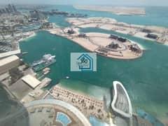 شقة في أبراج الإتحاد شارع الكورنيش 2 غرف 150000 درهم - 5082989