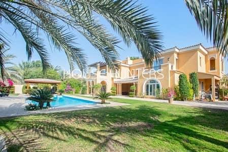 فیلا 5 غرف نوم للبيع في المرابع العربية، دبي - Exclusive | Rare Type 21 | Golf Course view