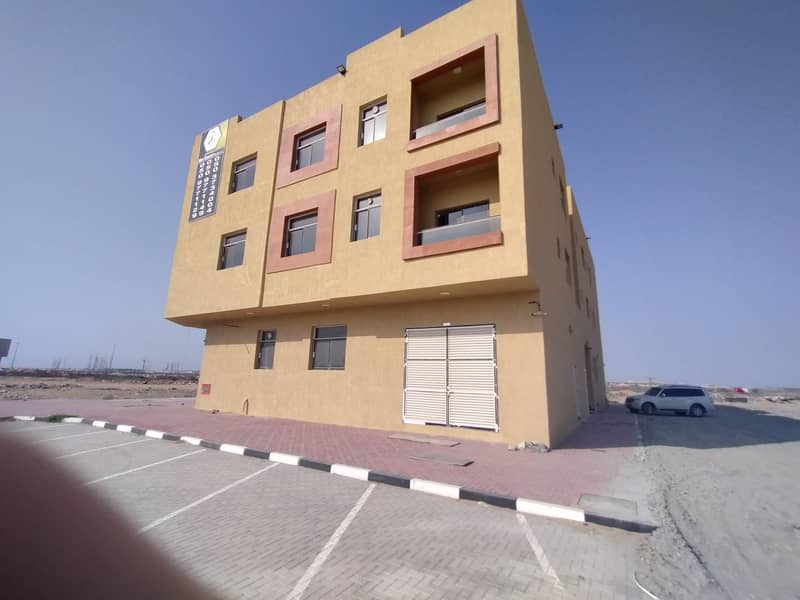 A new building suitable for super deluxe housing for employees or families for rent in Al Jarf at a fantastic price for the year