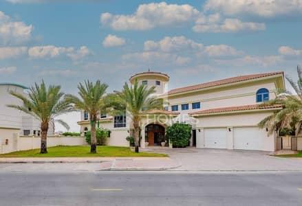 فیلا 5 غرف نوم للبيع في نخلة جميرا، دبي - Tenanted   Gorgeous Riviera Signature Villa
