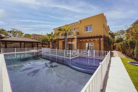 فیلا 6 غرف نوم للايجار في المرابع العربية، دبي - Upgraded | Golf Course View | Private Pool