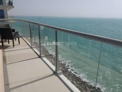 شقة 2 غرفة نوم للايجار في جزيرة المرجان، رأس الخيمة - Perplexing Sea View | Fully Furnished 2BR Apt.