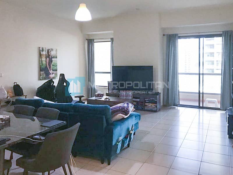 Full Marina View|2 Balconies| Well Maintained