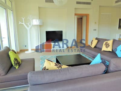 3 Bedroom Apartment for Rent in Palm Jumeirah, Dubai - 45 Days Free Rent | Maid Room | Beach Access