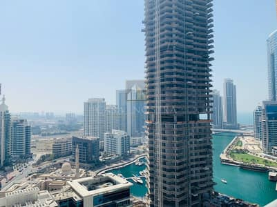 Higher floor Furnished 1BR Marina and Sea View