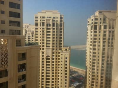 2 Bedroom Apartment for Sale in Jumeirah Beach Residence (JBR), Dubai - High Floor | Marina View | Close to the Beach