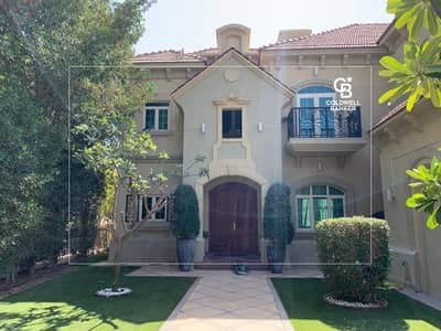 4 Bedroom Villa for Sale in Jumeirah Islands, Dubai - Beautiful French Rivera Garden Hall  On The Lake