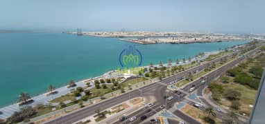 Spacious apartment with modern design and stunning view of Abu Dhabi Corniche