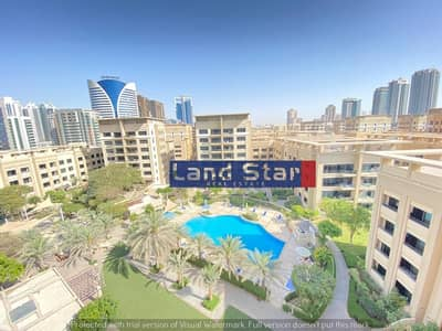 3 Bedroom Apartment for Rent in The Greens, Dubai - Vacant Now |3 BR+Study|Full Pool View|Chiller Free