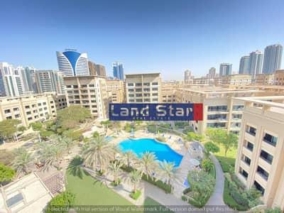 شقة 3 غرف نوم للايجار في الروضة، دبي - Vacant Now |3 BR+Study|Full Pool View|Chiller Free
