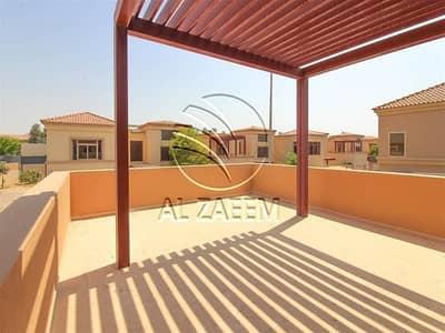 فیلا 4 غرف نوم للبيع في حدائق الجولف في الراحة، أبوظبي - Well Maintained Villa | Private Pool | Garden