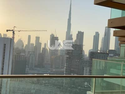 Studio for Rent in Business Bay, Dubai - UNFURNISHED / 12 CHEQUES / FULL BURJ VIEWS / HIGH FLOOR