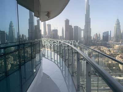 شقة 2 غرفة نوم للبيع في وسط مدينة دبي، دبي - Stunning Burj Views | Fully Furb